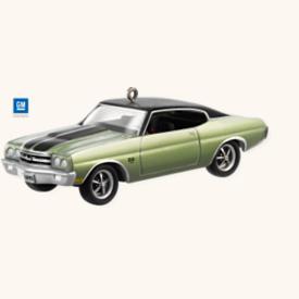 2008 Classic Cars #18 - 1970 Chevelle Ss Hallmark Ornament