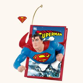 2008 Comic Book Heroes #1 - Superman Hallmark Ornament