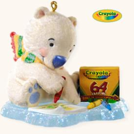 2008 Crayola - Coloring Fun Hallmark Ornament