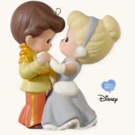 2008 Disney - Cinderella And Her Prince Hallmark Ornament