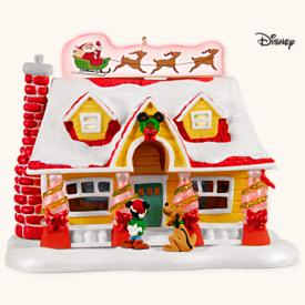 2008 Disney - Deck The House - Mickey - SDB Hallmark Ornament