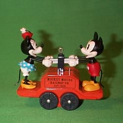 2008 Disney - Riding The Rails Hallmark Ornament