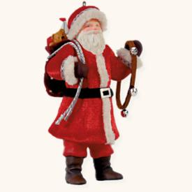 2008 Father Christmas #5 Hallmark Ornament