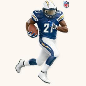 2008 Football #14 -  Ladainian Tomlinson Hallmark Ornament