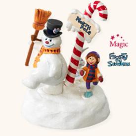2008 Frosty The Snowman - Follow The Leader Hallmark Ornament