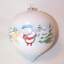 2008 Holiday Ball - A Holiday Hello Hallmark Ornament