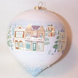 2008 Holiday Ball - Christmas On Main Street Hallmark Ornament