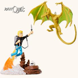 2008 Jonny Quest Set Of 2 Hallmark Ornament