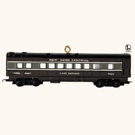 2008 Lionel - Passenger Car Hallmark Ornament