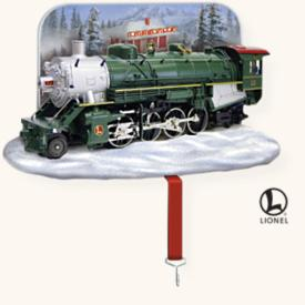 2008 Lionel Train Stocking Hanger - NB Hallmark Ornament
