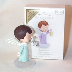 2008 Mary's Angels #21 - Rosemary - Colorway - MIB Hallmark Ornament