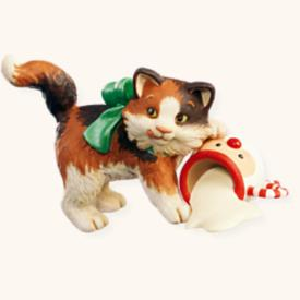 2008 Mischievous Kittens #10 Hallmark Ornament