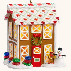 2008 Noelville #3 - Gingerbread Lane Hallmark Ornament