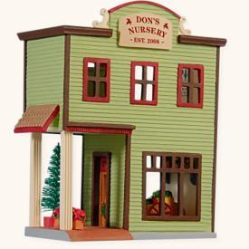 2008 Nostalgic Houses #25 - Nursery Hallmark Ornament