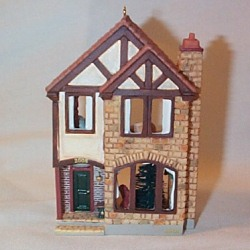 2008 Nostalgic Houses - Mayor's House - SDB Hallmark Ornament