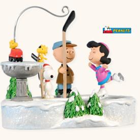 2008 Peanuts On Ice Hallmark Ornament