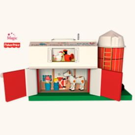 2008 Play Family Farm - Fisher Price Hallmark Ornament