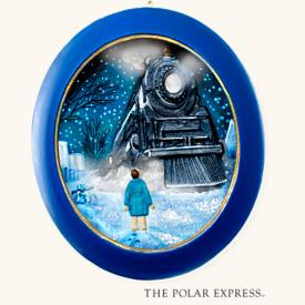 2008 Polar Express - All Aboard Hallmark Ornament