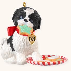 2008 Puppy Love #18 Hallmark Ornament