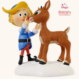2008 Rudolph - A Couple Of Misfits Hallmark Ornament