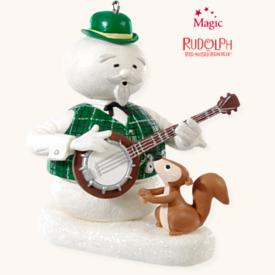2008 Rudolph - Sam The Snowman - NB Hallmark Ornament