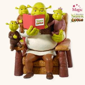2008 Shrek - A Nice Family Christmas Hallmark Ornament