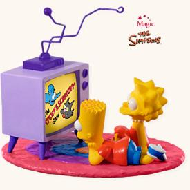 2008 Simpsons - Tv Time Hallmark Ornament