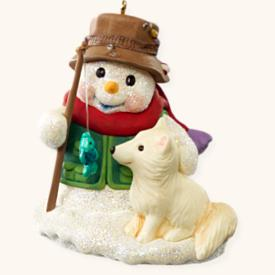 2008 Snow Buddies #11 - Fox Hallmark Ornament