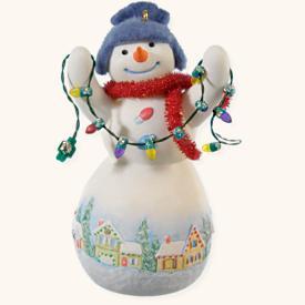 2008 Snowtop Lodge #4 - Louie D Lightly Hallmark Ornament