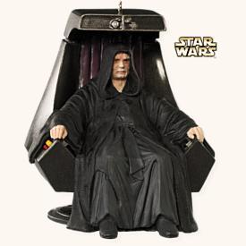 2008 Star Wars #12 - Emperor Palpatine Hallmark Ornament