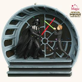 2008 Star Wars - Final Confrontation Hallmark Ornament
