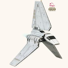 2008 Star Wars - Imperial Shuttle Hallmark Ornament