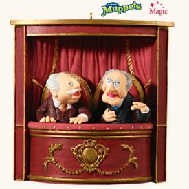 2008 Statler And Waldorf - Muppets Hallmark Ornament