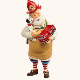 2008 Toymaker Santa #9 Hallmark Ornament