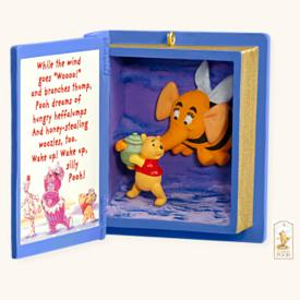 2008 Winnie The Pooh Book #11 - Heffalumps And Woozles Hallmark Ornament