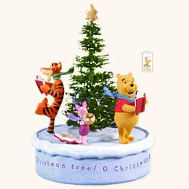 2008 Winnie The Pooh - O Christmas Tree Hallmark Ornament