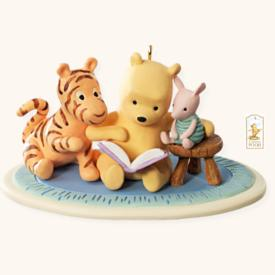 2008 Winnie The Pooh - Once Upon A Story Hallmark Ornament