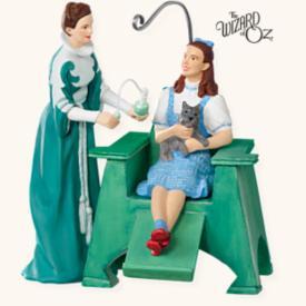 2008 Wizard Of Oz - Emerald City Style - NB Hallmark Ornament