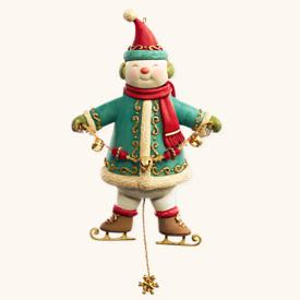 2008 Yuletide Treasures #3 - Snowman Hallmark Ornament