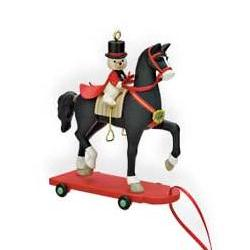 2009 A Pony For Christmas  - Colorway - Limited Hallmark Ornament