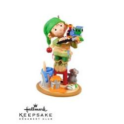 2009 Artistic Elf Hallmark Ornament