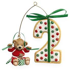 2009 Baby's 2nd Christmas - Age Hallmark Ornament