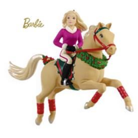 2009 Barbie - Best In Show - Horse Hallmark Ornament