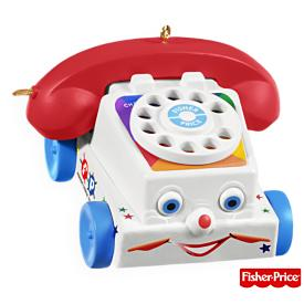 2009 Chatter Telephone - Fisher Price Hallmark Ornament