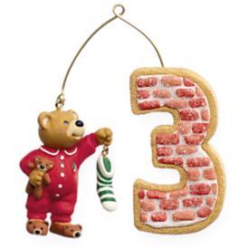 2009 Child's 3rd Christmas - Age Hallmark Ornament