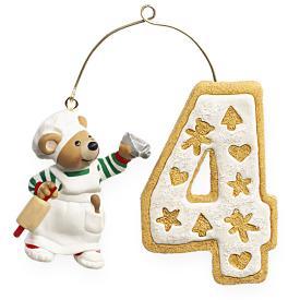 2009 Child's 4th Christmas - Age Hallmark Ornament
