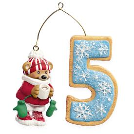 2009 Child's 5th Christmas - Age Hallmark Ornament