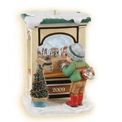 2009 Christmas Windows #7 - Club Hallmark Ornament