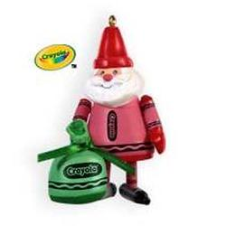 2009 Crayola - Colorful Santa - Limited Hallmark Ornament