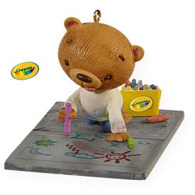 2009 Crayola - Mommy's Little Artist Hallmark Ornament